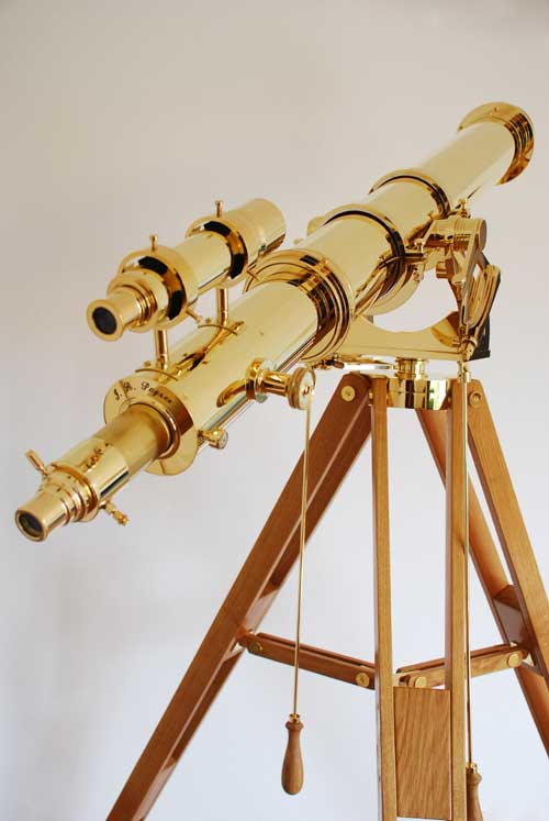 Brass telescope by IR Poyser