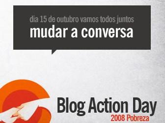 Blog Action Day: Dia do Blogue-Ativismo