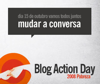 Blog Action Day: Dia do Blogue-Ativismo