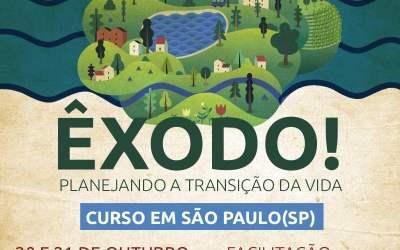 Êxodo! Planejando a Transição de Vida, curso em São Paulo (SP)
