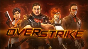 Here is Overstrike before...