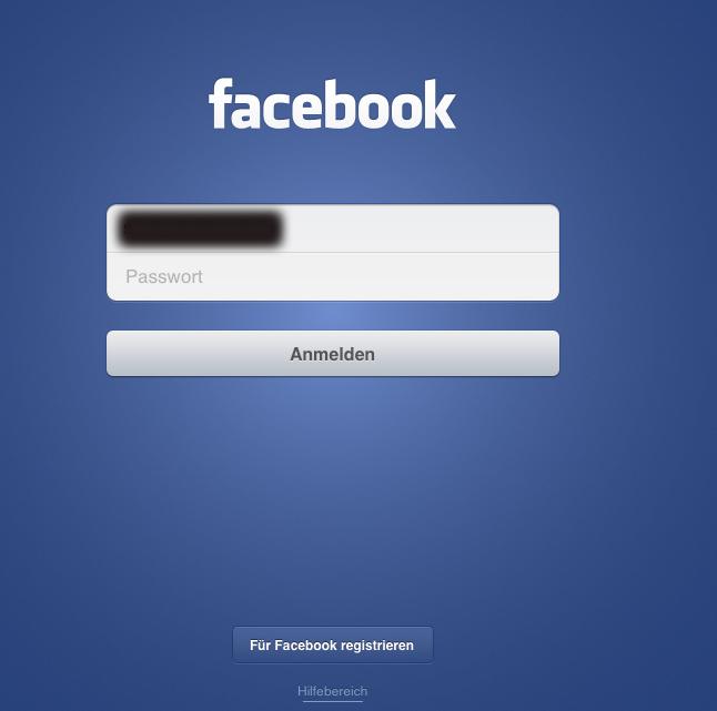 Screenshot Facebook App