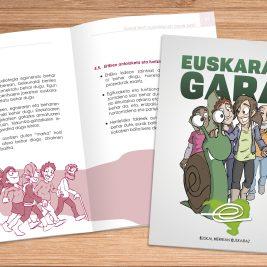 Euskal Herrian Euskaraz-ek egindako azterketaren ondorioekin ateratako liburuxka