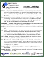 international product line card
