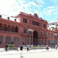 Casa Rosada  Government Building in Monserrat