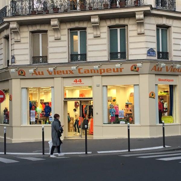 Au Vieux Campeur - Sorbonne - Paris. Île-de-France