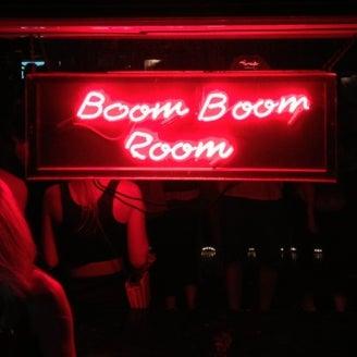 Boom Boom Room  26 Bannisters Wharf