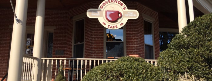 Governor's Cafe is one of The Coziest Spot in Every State.