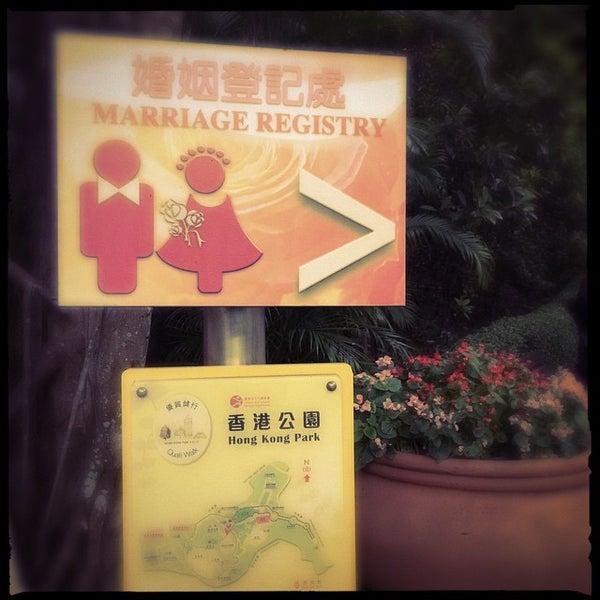 Photo taken at Cotton Tree Drive Marriage Registry 紅棉路婚姻登記處 by Viktor E. on 4/10/2015