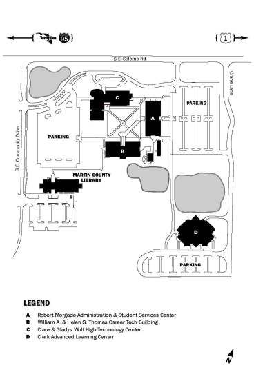 Irsc Pruitt Campus Map : pruitt, campus, Indian, River, State, College, Chastain, Campus
