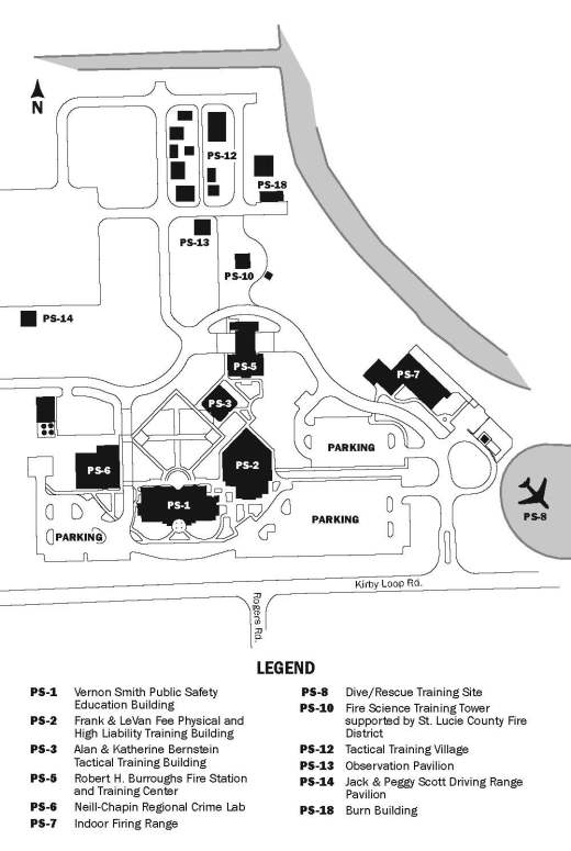 Irsc Pruitt Campus Map : pruitt, campus, Indian, River, State, College, Treasure, Coast, Public, Safety, Training, Complex