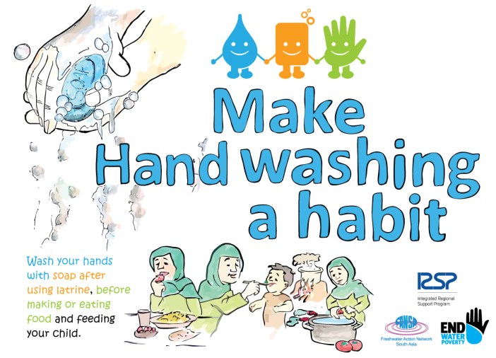 Global Handwashing Day : Make handwashing a habit