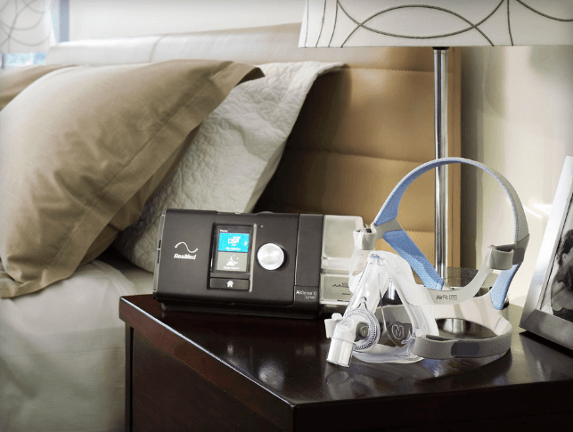 CPAP Machine and CPAP Mask