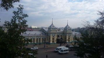 Irkutsker Bahnhof