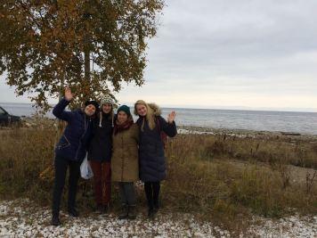 Birke, Baikal, Schnee. Was braucht man mehr?