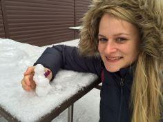 Anne und der Schneemann - big luv.