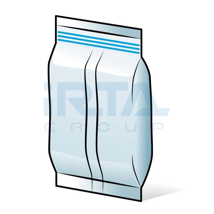 Pillow type Bags – Zip Closure