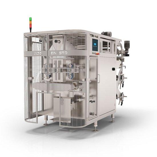 Máquina ensacadora para grandes formatos de bolsa Irta EN STD