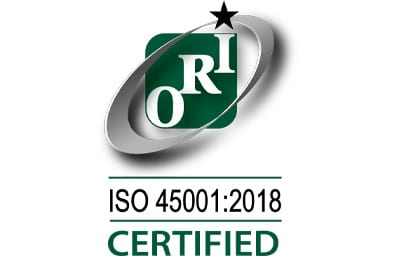 ISO 45001:2018 CERTIFIED