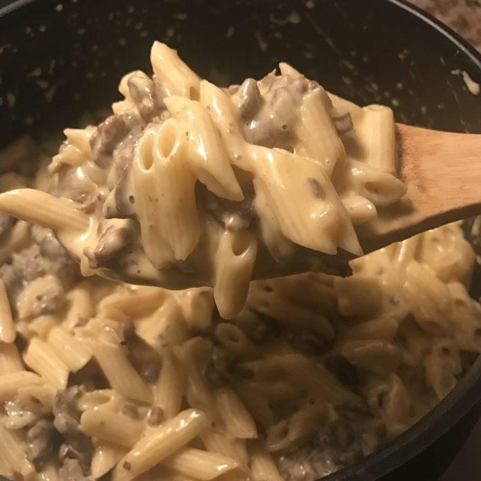 Philly Mac-n-Cheese Steak