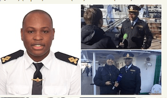 Arthur Nwabufo Becomes The First Nigerian To Reach Antarctica With The Russian Fleet
