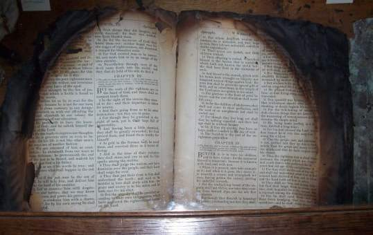 Man Burns Bible As He Claims There's No Power In It(Video)