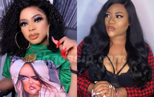 Drama AS Bobrisky And Nkechi Blessing Drags Each Other On IG