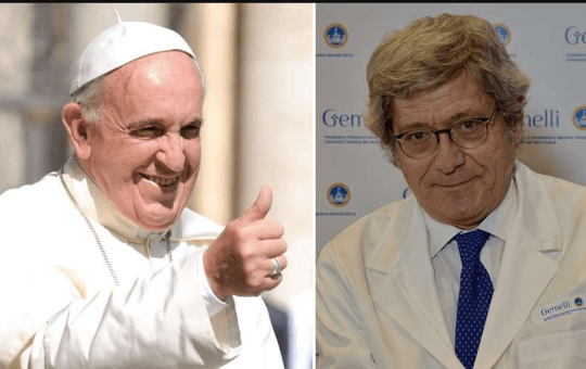 Pope Francis Appoints New Personal Doctor After Death Of Previous One