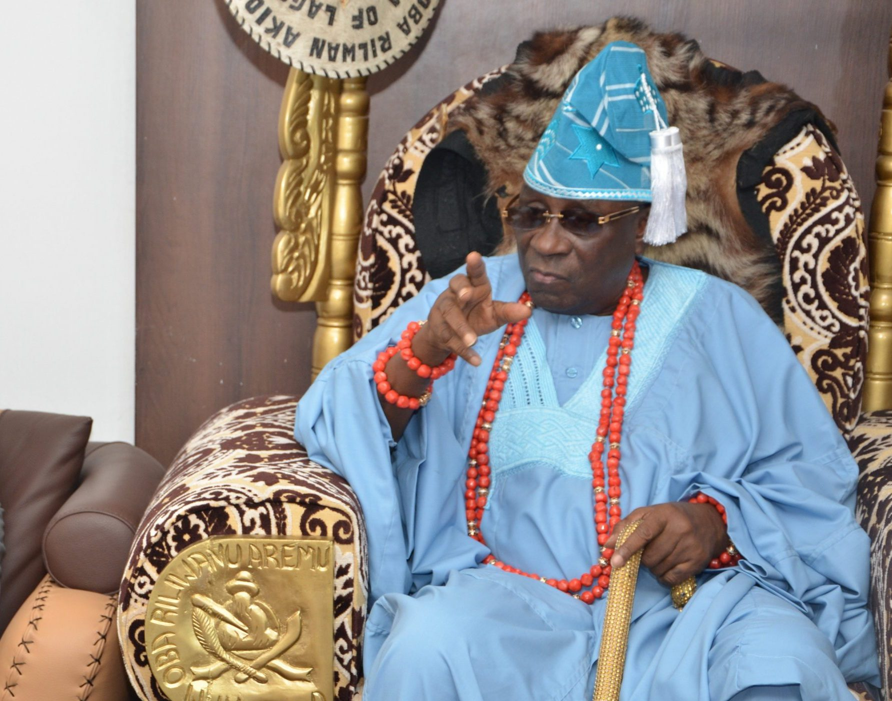 About $2 million and N17 million Was Stolen During #ENDSARS Crisis - Oba Of Lagos Recounts