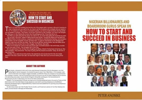 LCCI Recommends, 'Nigerian Billionaires And Boardroom Gurus Speak On How To Start And Succeed In Business'