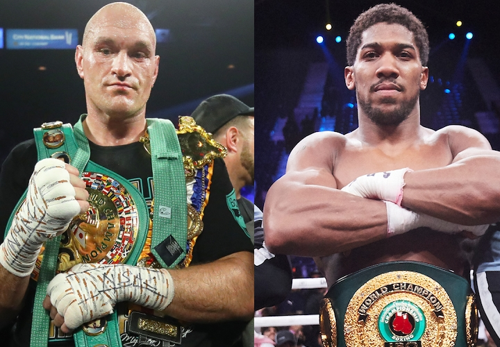 Anthony Joshua Confirms Fight With Tyson Fury Will Happen In June