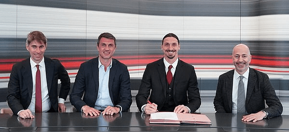 Zlatan Ibrahimovic Signs One Year Deal With AC Milan