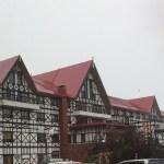 軽井沢グリーンプラザホテルの外観