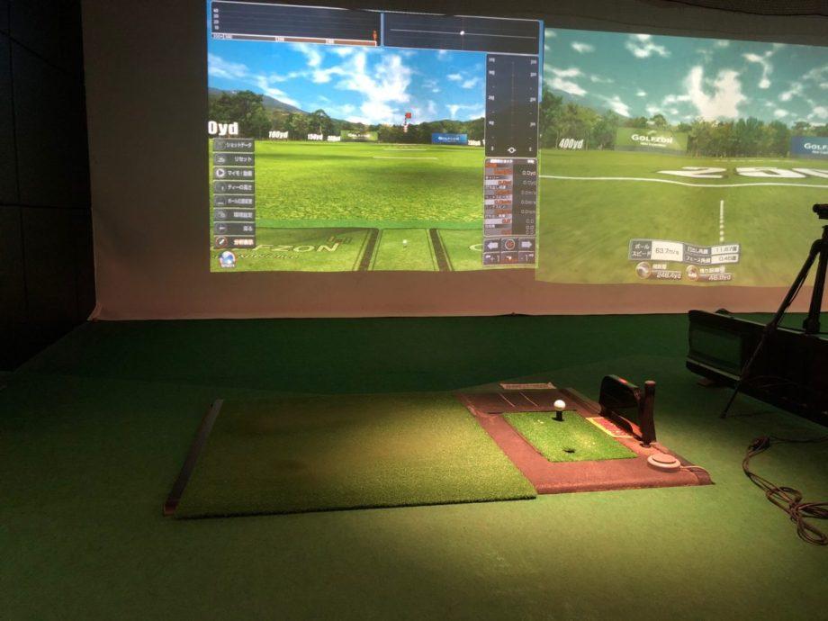 ゴルフパートナーインドアゴルフの打席