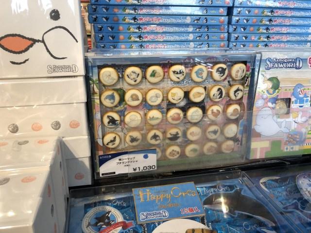 鴨川シーワールドのお土産のクッキー大