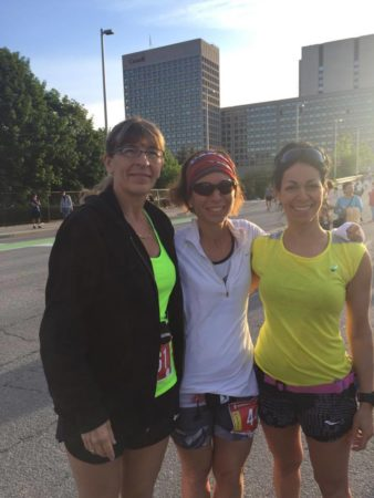 irun ca friendship and running three girls and a race home to