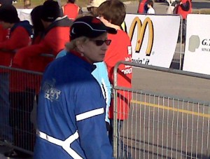 Me at the finish line of the Road2Hope