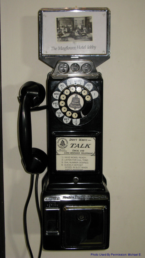Infamous Mayflower Hotel Phone