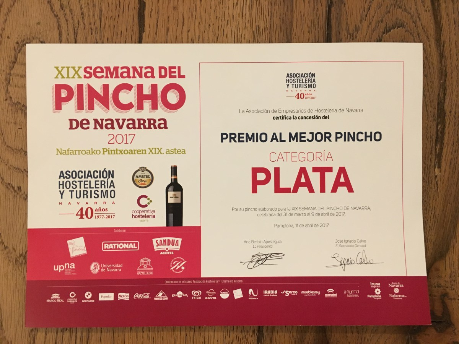XIX Semana del Pincho de Navarra 2017