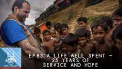 """What A Relief"" Podcast 83: A Life Well Spent: 25 Years of Service and Hope"