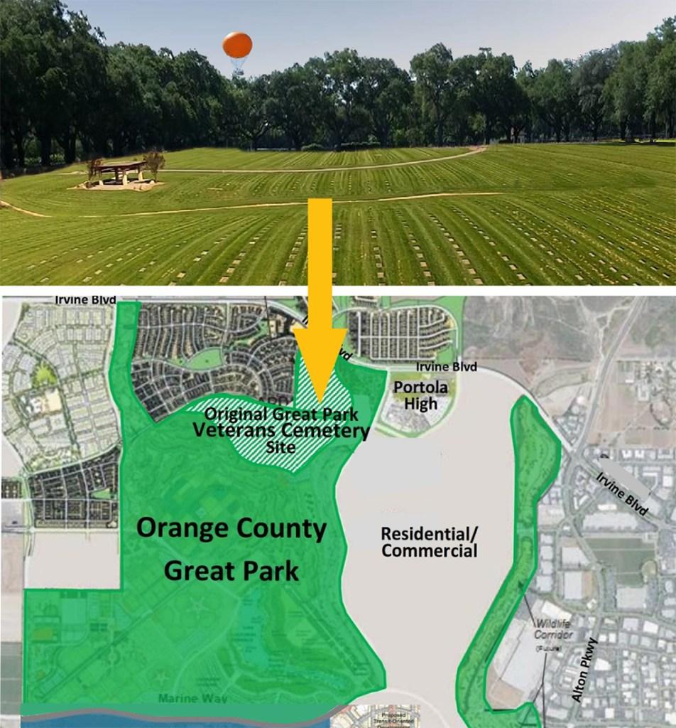Original Proposed Veterans Cemetery