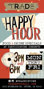 AD - Trade Food Hall - Happy Hour