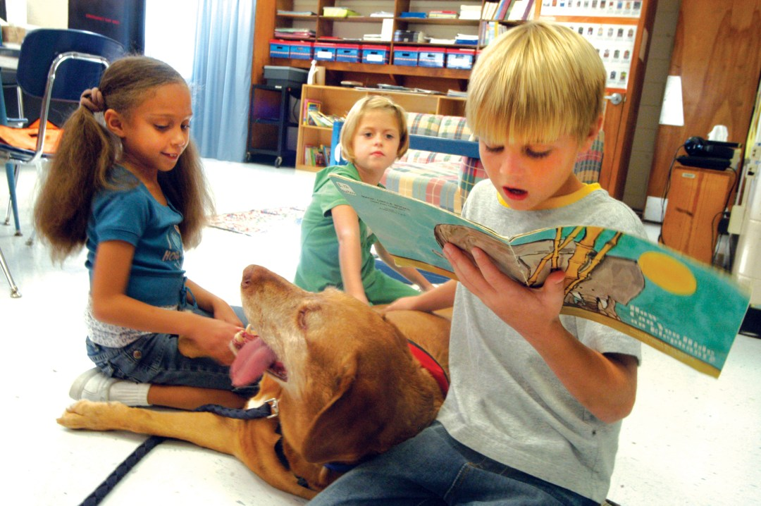 Read to a Dog.