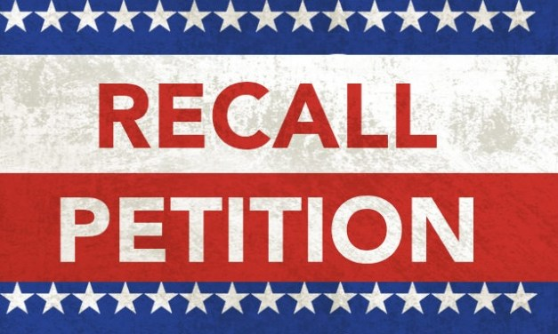 Coalition of Veterans & Longtime Irvine Residents Serve Mayor Christina Shea & Councilmember Michael Carroll with Notice of Recall