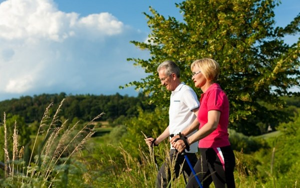 Senior Life:  Walking Briskly for a Healthy Life