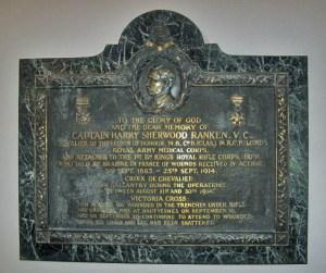 Memorial Victoria Cross