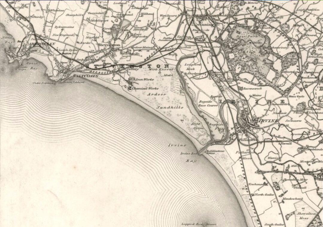 Irvine Maps – Irvine Scotland on