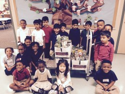 Landry Elementary Pre-K Students from Ms. Rison's class