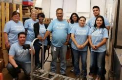 TXU Energy in Action Volunteers 041816