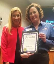 Mayor Beth Van Duyne Presents #GivingTuesday Proclamation 2015 proclamation